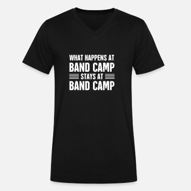 Band Camp Band Camp | Marching Band - Men's V-Neck T-Shirt by Canvas