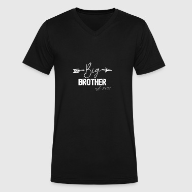Gift For Big Brother 2018 Kids - Men's V-Neck T-Shirt by Canvas