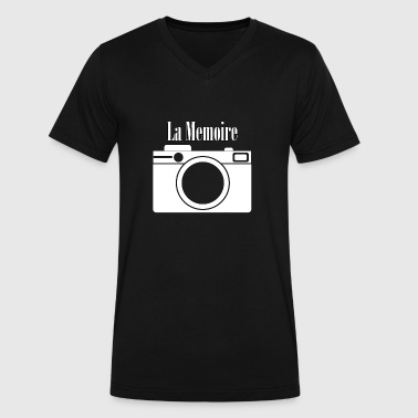 Memoirs La Memoire - Photography -Total Basics - Men's V-Neck T-Shirt by Canvas