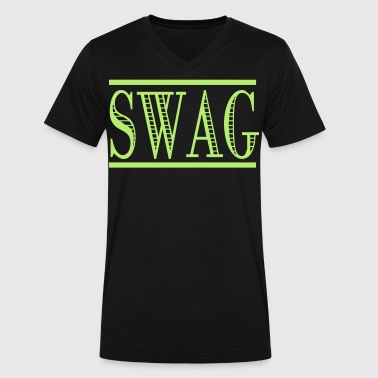 SWAG - Men's V-Neck T-Shirt by Canvas