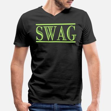 T Swag SWAG - Men's V-Neck T-Shirt