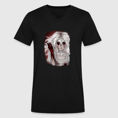 Alice Madness Returns Alice Madness Returns - Hysteria - Men's V-Neck T-Shirt by Canvas