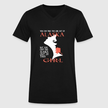 Alaska - You can't take Alaska out of this girl - Men's V-Neck T-Shirt by Canvas