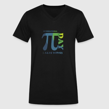 International Pi Day - Men's V-Neck T-Shirt by Canvas