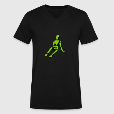 mannequin - Men's V-Neck T-Shirt by Canvas