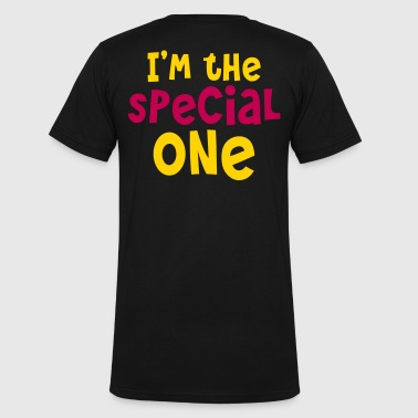 I'm the special one - Men's V-Neck T-Shirt by Canvas