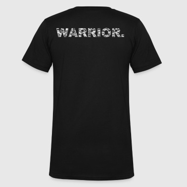 WARRIOR - Men's V-Neck T-Shirt by Canvas