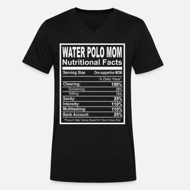 98a5f0f8 Waterpolo Mom Nutritional Facts Men's T-Shirt | Spreadshirt