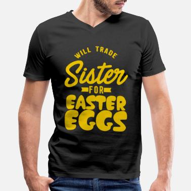 Brother Easter Matching Family Brother Funny Appar 115010E - Men's V-Neck T-Shirt