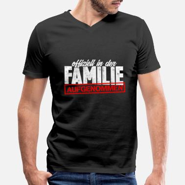 Celebration Family Family celebration Parents-in-law Marriage - Men's V-Neck T-Shirt