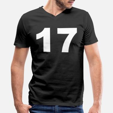 17th Birthday 17th birthday - Men's V-Neck T-Shirt