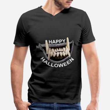 Shop Wolf Teeth T-Shirts online   Spreadshirt