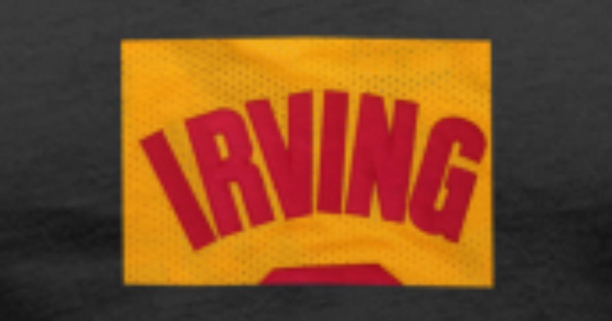 0c7f597eb retro-Men-Basketball-Jersey-2-Kyrie-Irving-Jerseys Men s V-Neck T-Shirt