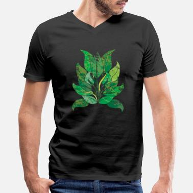 Save The Environment nature save the world save earth protect environment global warming 6 - Men's V-Neck T-Shirt by Canvas