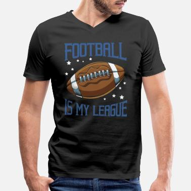 American Football Quotes American Football - Men's V-Neck T-Shirt by Canvas