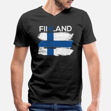 Finland - Men's V-Neck T-Shirt