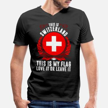 Switzerland This Is Switzerland - Men's V-Neck T-Shirt