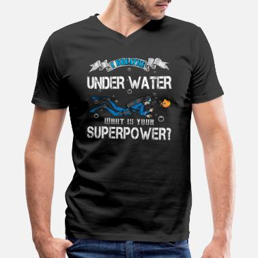 Wreck Diver Diving - Scuba Diver - Diver Gift - Men's V-Neck T-Shirt by Canvas