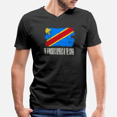 World Championship Democratic Republic Of Congo - Men's V-Neck T-Shirt