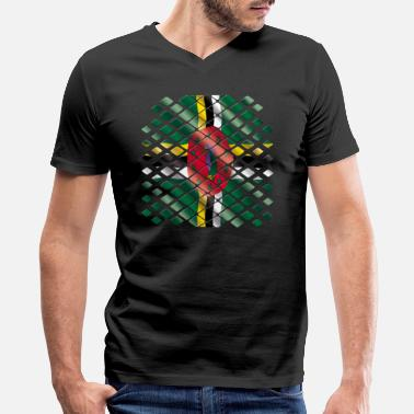Dominica Designs Dominica - Men's V-Neck T-Shirt by Canvas