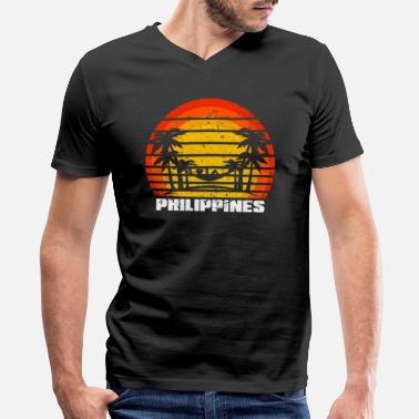 South East Asia Philippines South East Asia - Men's V-Neck T-Shirt