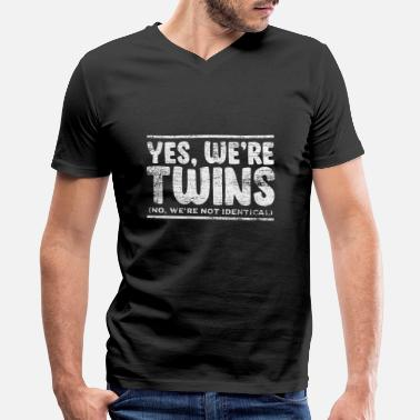 Twins Twins Appearance - Men's V-Neck T-Shirt