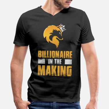 Cashkaa Clothing CashKaa: Billionaire - Men's V-Neck T-Shirt