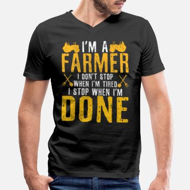 Farmer Farmer - Men's V-Neck T-Shirt