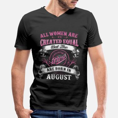 Wome August Wome - Men's V-Neck T-Shirt
