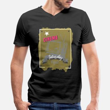 Cinema Cinema - Men's V-Neck T-Shirt