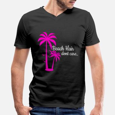 Promenade Beach Sea Promenade Palms Holidays - Men's V-Neck T-Shirt