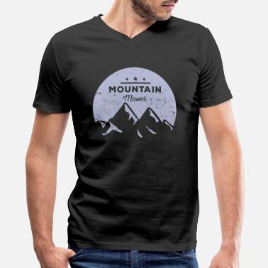 Movers Mountain mover - Men's V-Neck T-Shirt