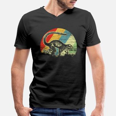 Madagascar Lemur - Men's V-Neck T-Shirt by Canvas