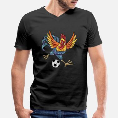 b3a7e934 Kids Chicken Christmas Funny Humor Soccer Chicken Gift Idea for Kids -  Men'
