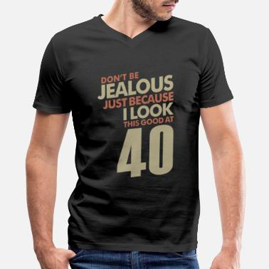 40 Years 40 Years - Men's V-Neck T-Shirt