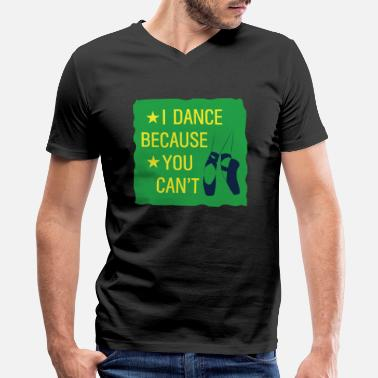 Italian Ballet Dancer Gift - Men's V-Neck T-Shirt