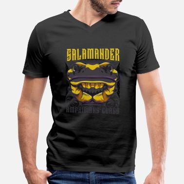 Salamander Salamander - Men's V-Neck T-Shirt