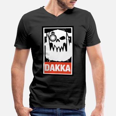 Eldar Dakka Orks Greenskins 40k - Men's V-Neck T-Shirt