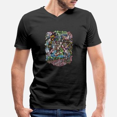 Illustration Illustration - Men's V-Neck T-Shirt