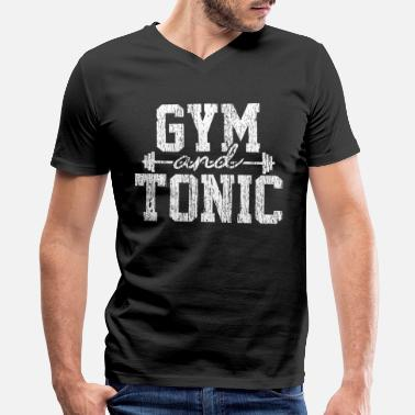 7d7617d57 Gym And Tonic Gym & Tonic - Fitness Bodybuilding Funny Gift - Men'