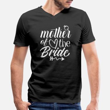 Party Mother Of The Bride Shirt Wedding Party MOB Mom - Men's V-Neck T-Shirt