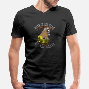 Born in the year - Men's V-Neck T-Shirt