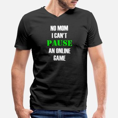 Online Games Pause Online Game - Men's V-Neck T-Shirt