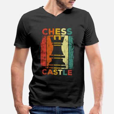 For Chess Chess - Men's V-Neck T-Shirt