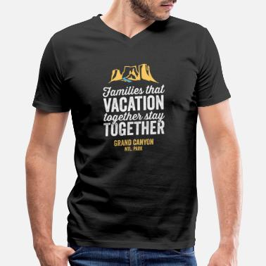 Vacation Family Vacation Grand Canyon Shirt - Men's V-Neck T-Shirt