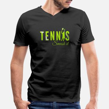 Tennis Tennis, Tennisplayer , Tennis game - Men's V-Neck T-Shirt