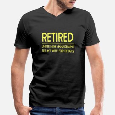 5xl Retirement - Retirement - Men's V-Neck T-Shirt by Canvas