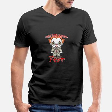 Pennywise Clown Halloween - Men's V-Neck T-Shirt