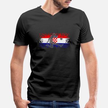 5bccd7c5f58 Croatia Football Croatia Football Soccer - Men's V-Neck T-