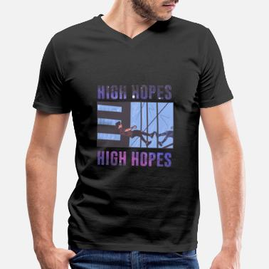 Panic At The Disco High Hopes Skyscraper gift - Men's V-Neck T-Shirt